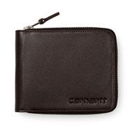 Zip Wallet Leather