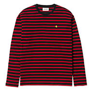 Stripe, Black/Red/Quince
