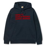 Hooded Bold Type Sweatshirt