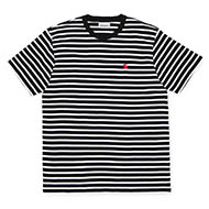 Stripe, Black/White/Red