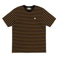 Stripe, Black/H.Brown/Wax