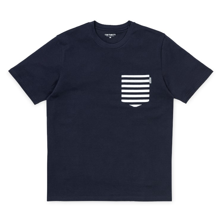 S/S Contrast Pocket T-Shirt