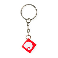 Dice Keychain - Red