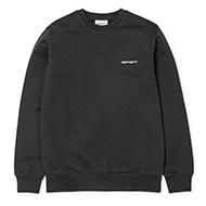Script Embroidery Sweatshirt