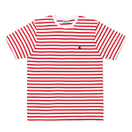 Champ Stripe, Goji /W/ Navy