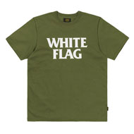 S/S Custer White Flag T-Shirt