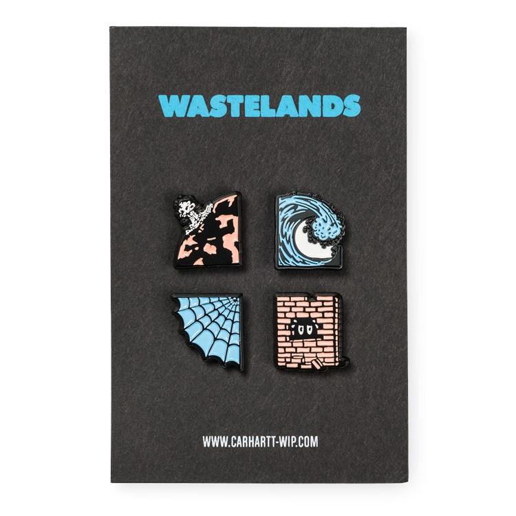 Wasteland Pin Set