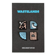 Wasteland Pin Set