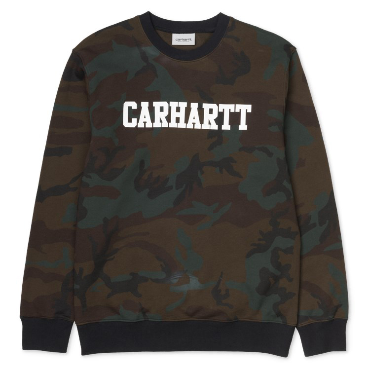 Camo Evergreen / White