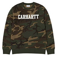 College Sweat Camo Laurel/White