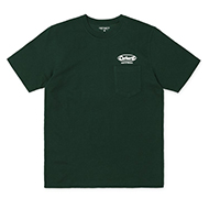 S/S Oval Script Pocket T-Shirt