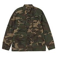 Michigan Shirt Jac - Camo Laurel rinsed