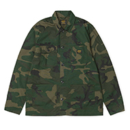 Michigan Shirt Jac Camo Combat Green rinsed