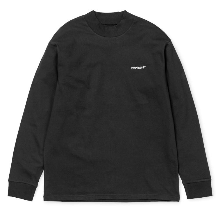 L/S Highneck Script T-Shirt