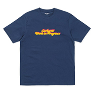 S/S Block Script T-Shirt