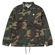 C Wip Coach Jacket Camo Laurel/Black