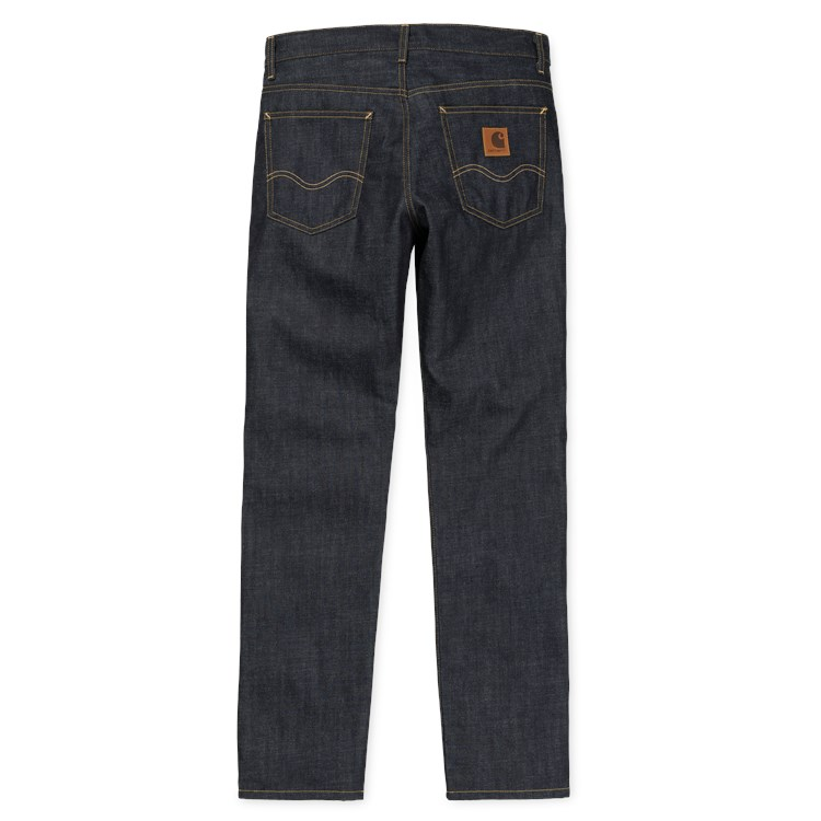 "Carhartt WIP-Texas Pant /""Edgewood/"" BLUE DENIM 12 oz Blue Rinsed Pantalon"