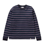 Korte Stripe, Dark Navy
