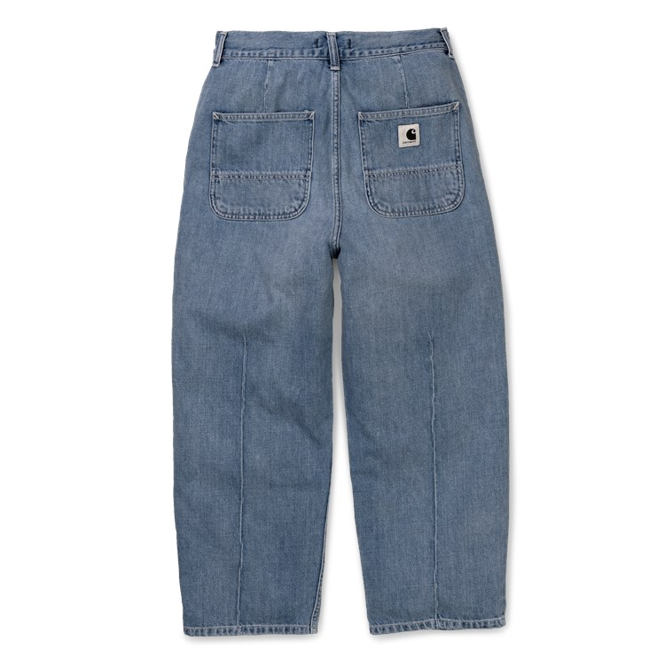 W' Armanda Pant - Blue light stone washed