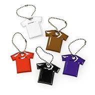 Script T-Shirt Keychain