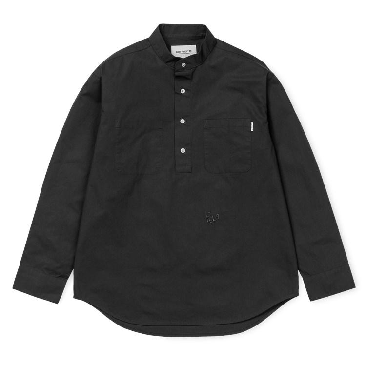 L/S F. Kuti Half Placket Shirt