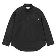 L/S F. Kuti Half Placket Shirt