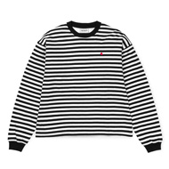 Barkley Stripe, Black / White