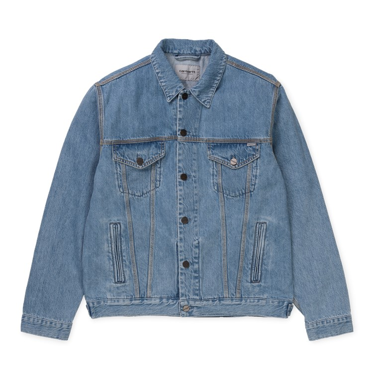 Western Jacket - Blue stone bleached