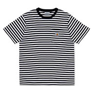 Haldon Stripe, Black / White