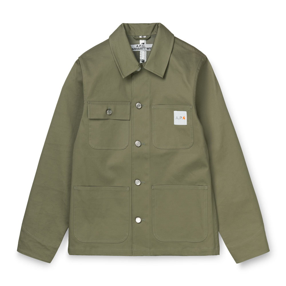 A.P.C x Carhartt WIP - W' Mishiguene Jacket Khaki