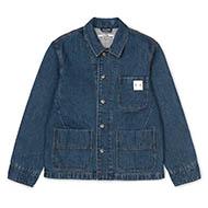 A.P.C x Carhartt WIP Talk Jacket Indigo