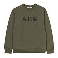 A.P.C x Carhartt WIP Ice Sweatshirt - Asst