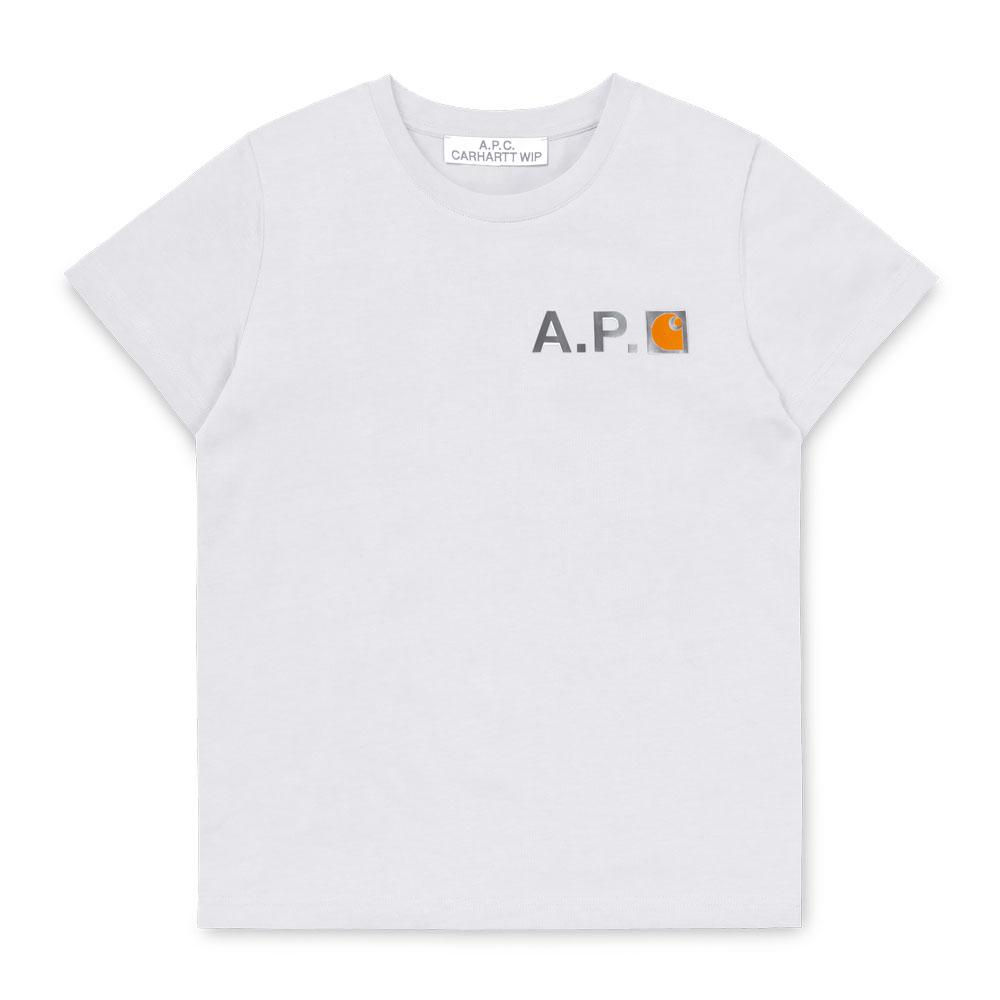 A.P.C x Carhartt WIP - W' Fire T-Shirt -Asst