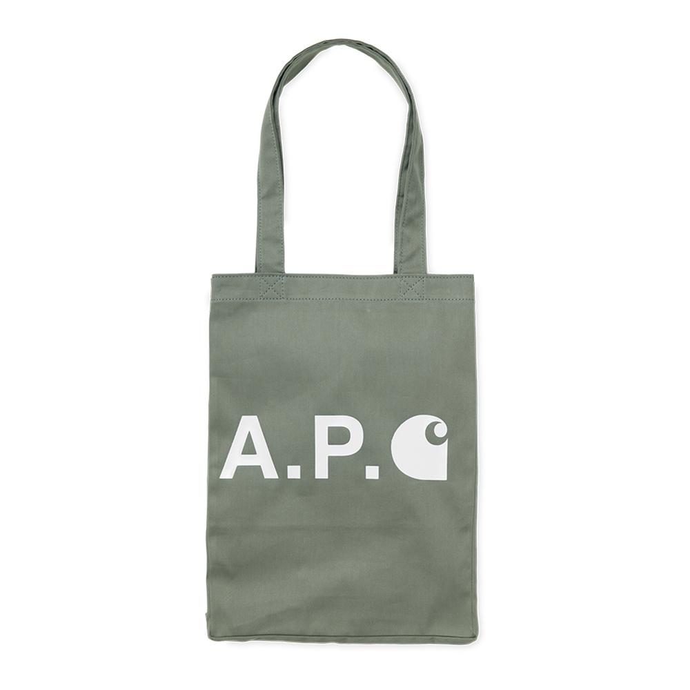 A.P.C x Carhartt WIP Alan Tote Khaki