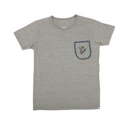 Visvim Embroidery Pocket Tee S/S - Grey
