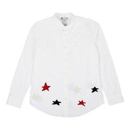 Visvim Lungta Lights B.D L/S Shirt White