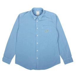 Visvim Lungta B.D.L/S Shirt Indigo/OverD- Lt.Ind