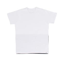 Visvim Flag Tee S/S White/Navy