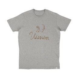 Visvim Indian Script N.D Print T-Shirt Grey