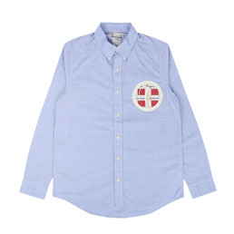 Visvim Juneau Weld L/S Shirt Navy