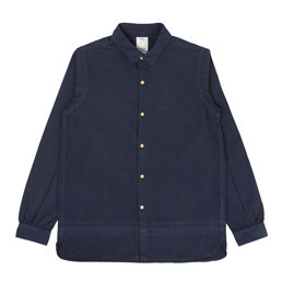 VISVIM Long Rider L/S Overdyed Shirt Navy