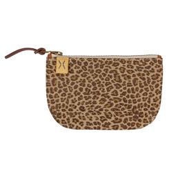 VISVIM Leopard Wallet L Sand