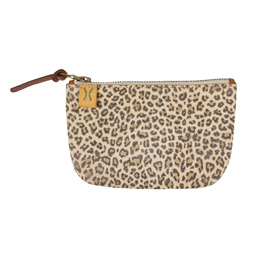 VISVIM Leopard Wallet L Natural