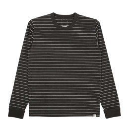VISVIM Mid Border L/S T-Shirt Black