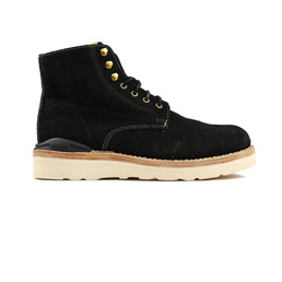 VISVIM Virgil Boots Folk Black