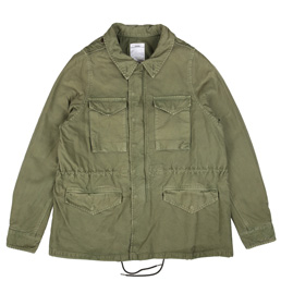 VISVIM Field Unit Jacket Olive