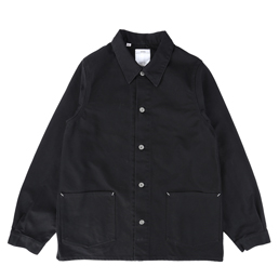 VISVIM Section Gang Coverall Black