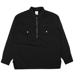 VISVIM Overpass Shirt P.O L/S Black