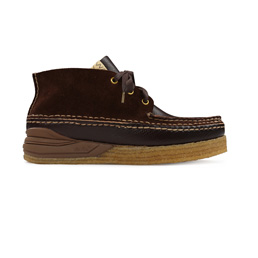 Visvim Canoe Moc II- Folk Dark Brown