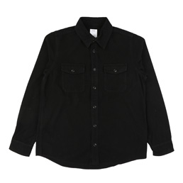 Visvim Elk Flannel Shirt Black
